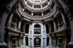 Treppenbrunnen in Ahmedabad, Indien