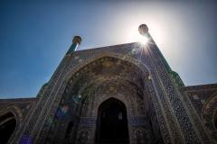 Die Shah Moschee in Isfahan