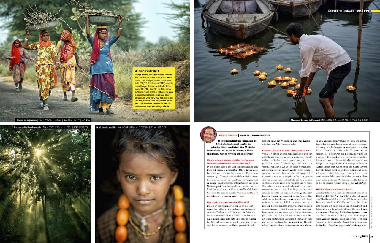 Reisefotografie in Indien - digitalPHOTO 2019-07 Interview mit Thorge Berger