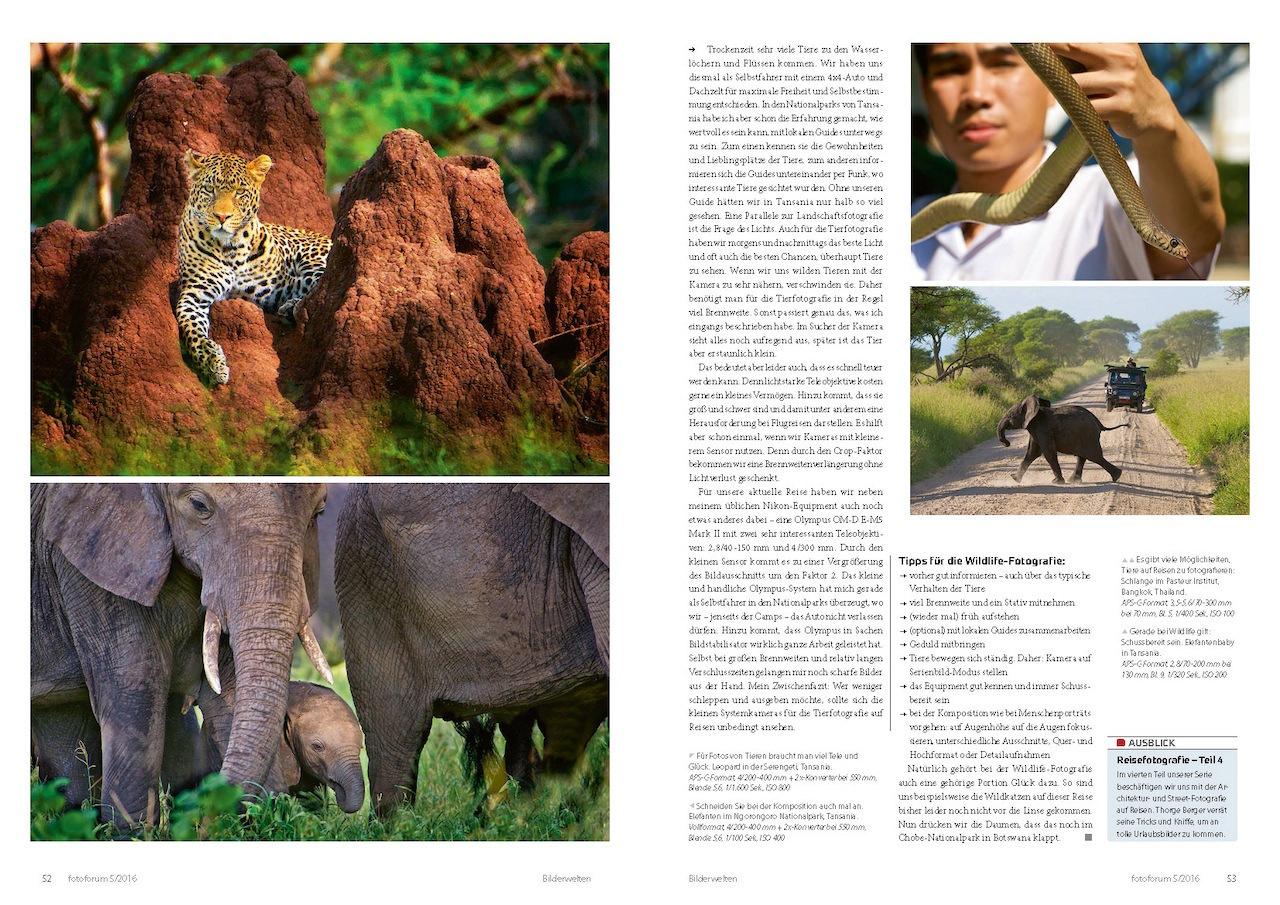 Reisefotografie: Landschaften und Tiere auf Reisen fotografieren - fotoforum 2016-5