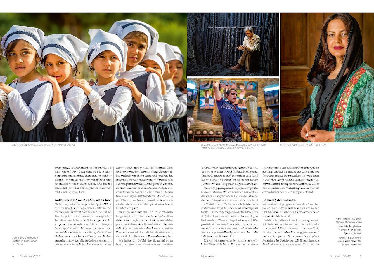 Fotografieren im  Iran - Fotoforum Magazin Ausgabe 2016-04  - Titelgeschichte  von Thorge Berger