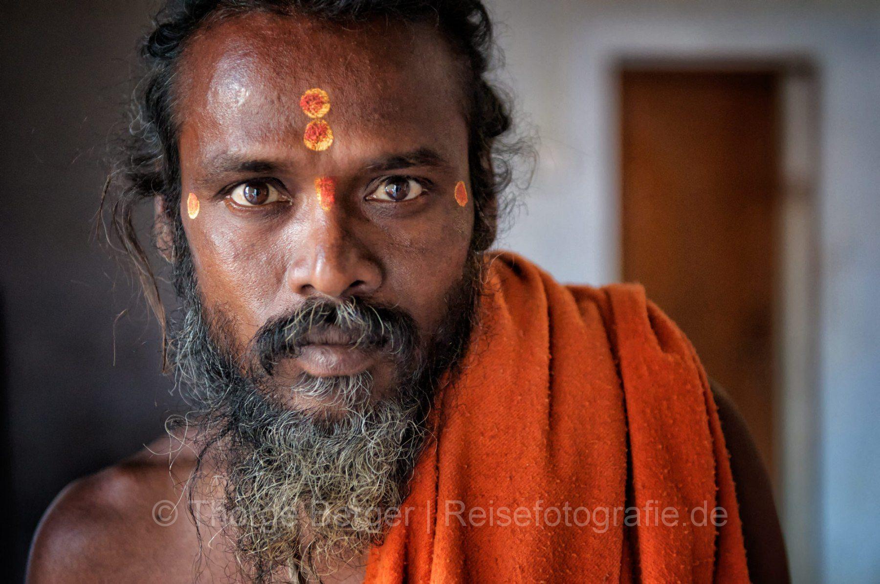 A Sadhu with Tilak