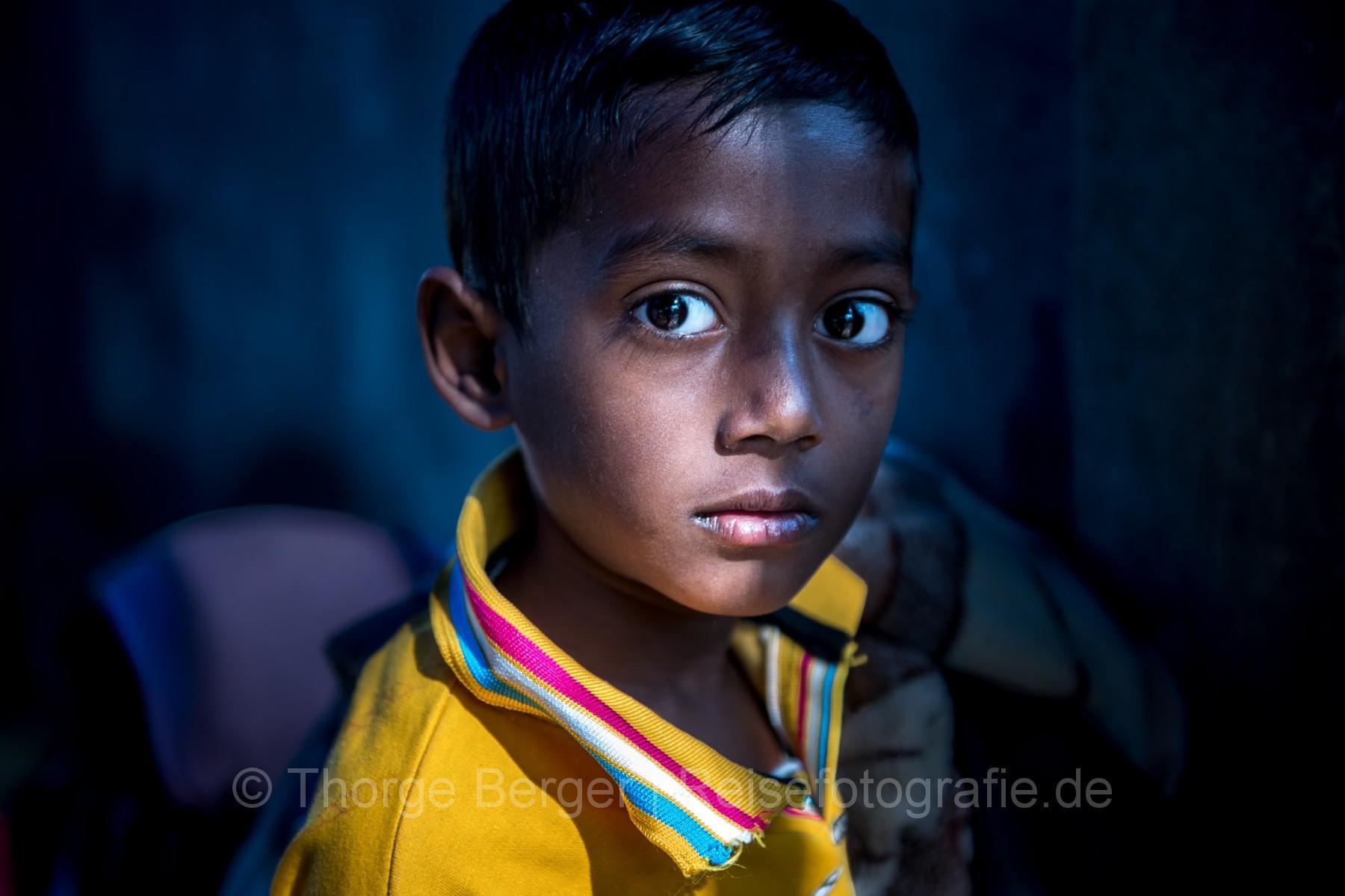 Boy in Kolkata