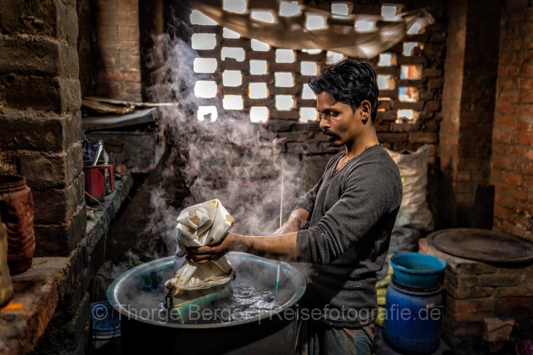 Dyer in Varanasi