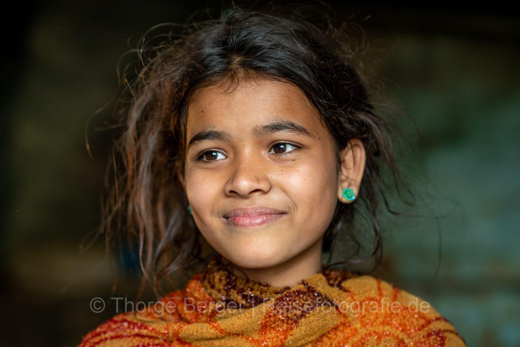 Girl in Prayagraj