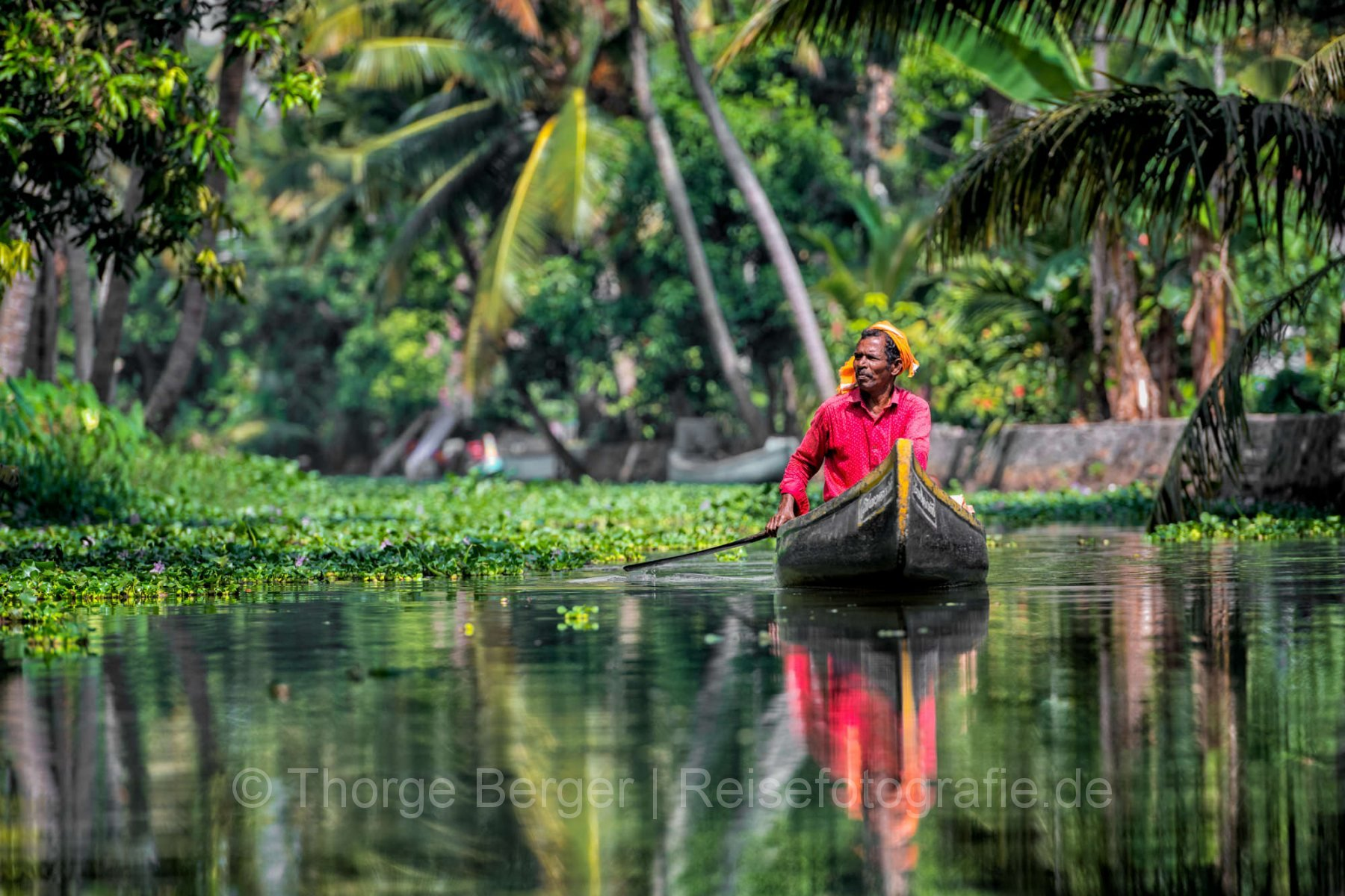 IN the backwaters of Kerala