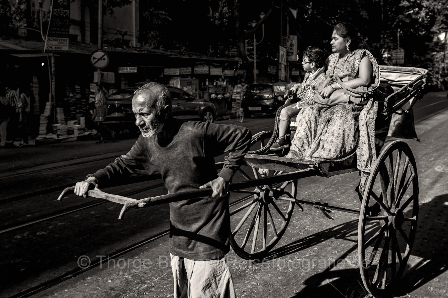 Rikshaw in Kolkata