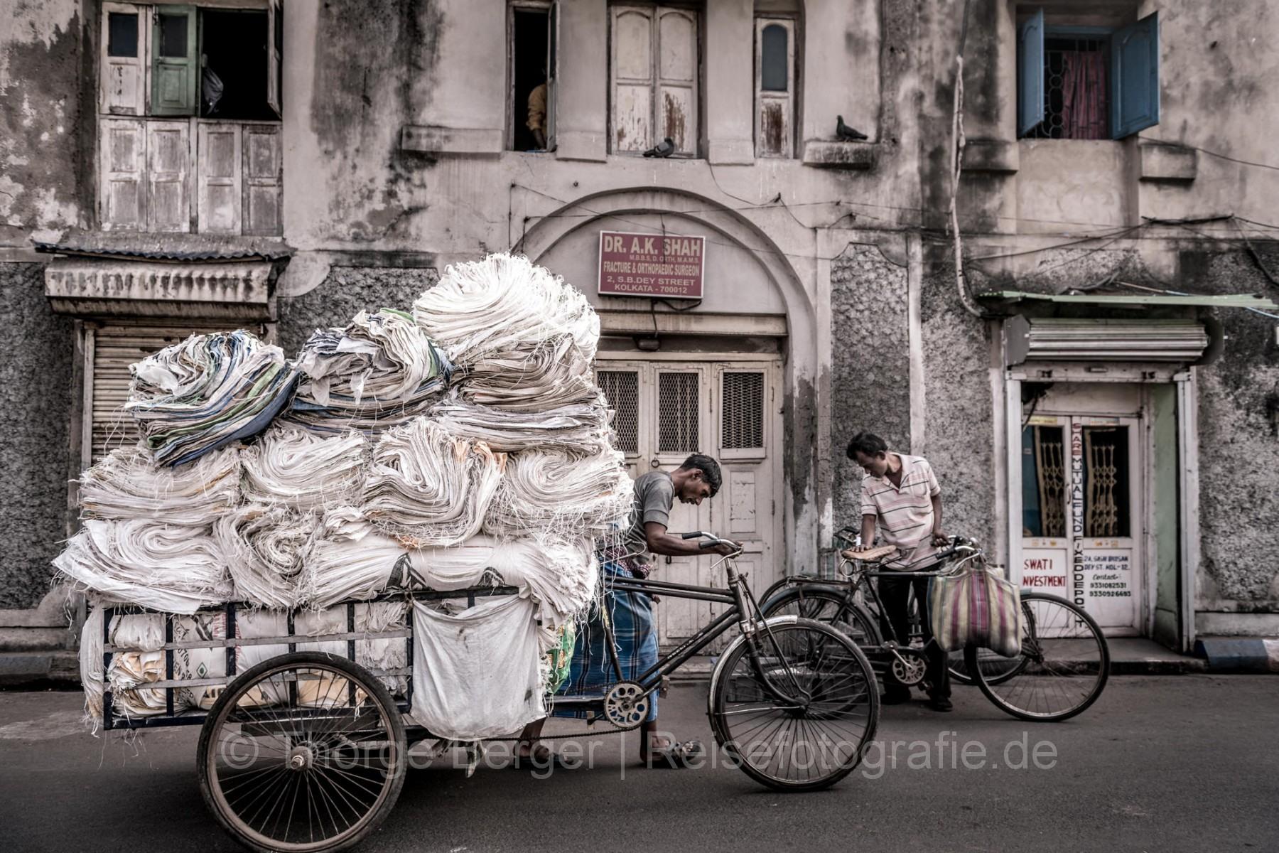 Street scene in Kolkata