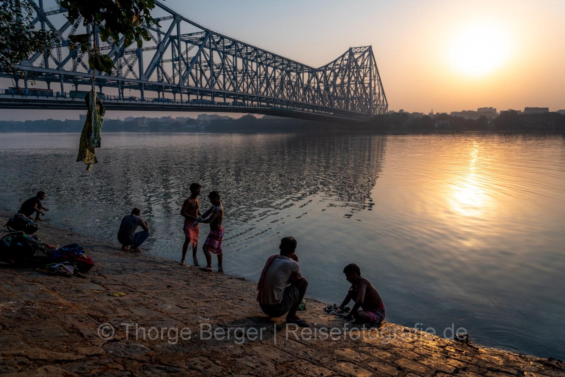 Sunrise in Kolkata