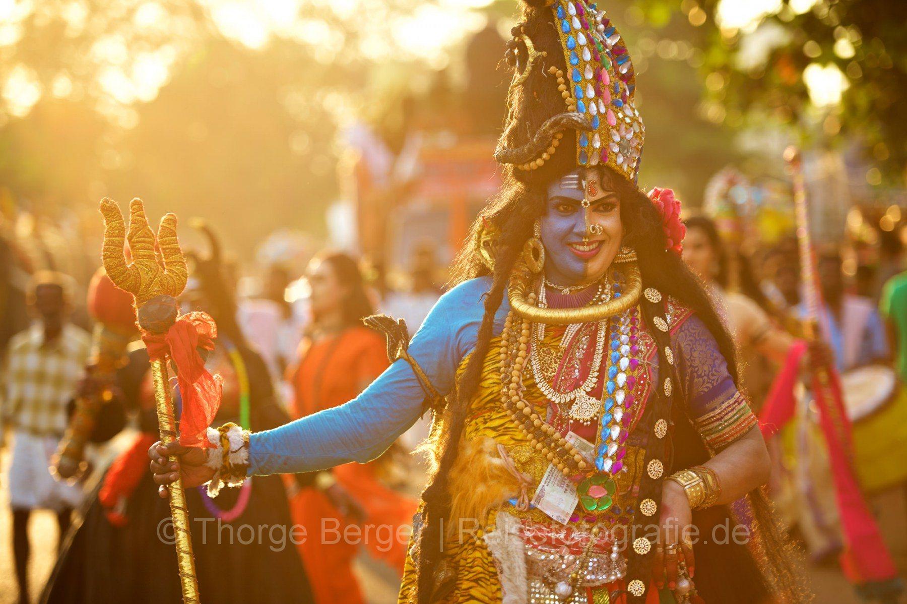 Temple festival in Kerala