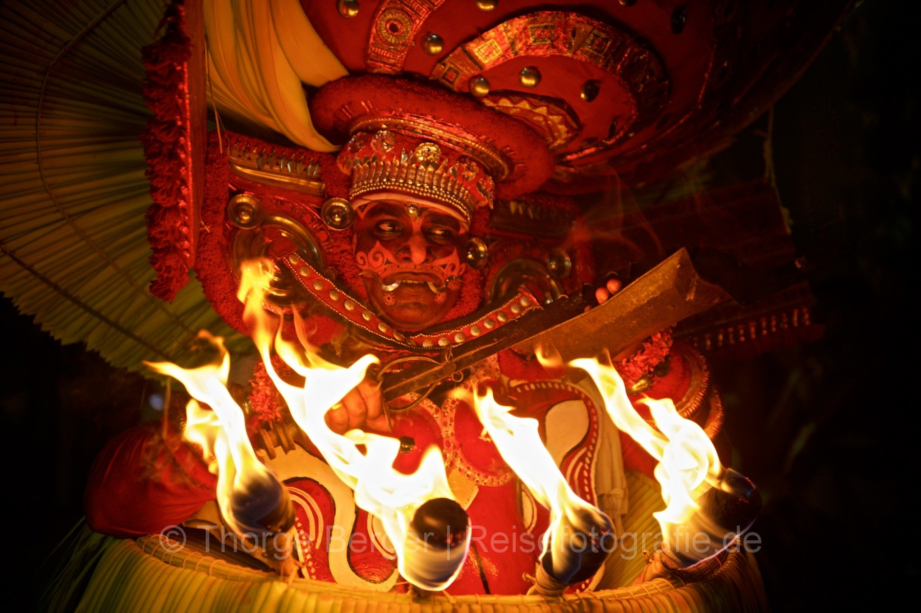 Theyyam - Night of the living Gods