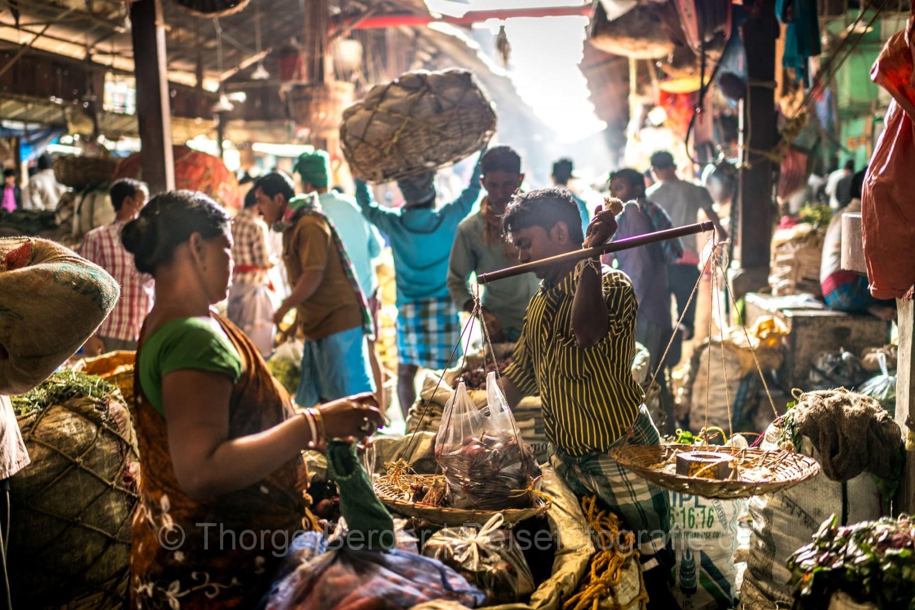 Vegetable Market in Kolkata