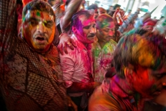 Celebrating holi - Jaipur