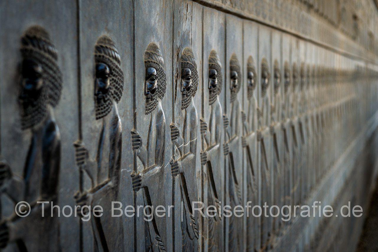 Reliefs in Persepolis