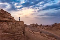 Allein in der Wüste Shahdad