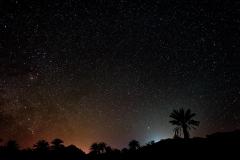Sternenhimmel in der Wüste Mesr
