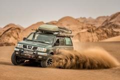 Spaß und Action mit dem Allrad in der Wüste