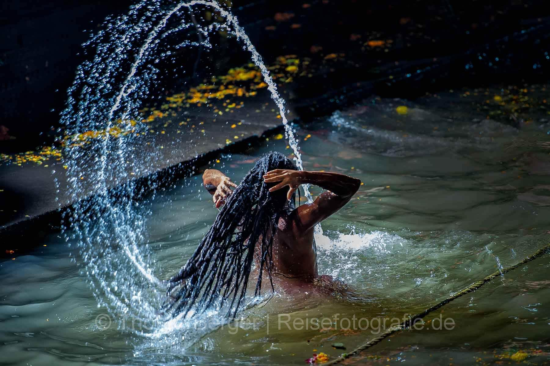 Das heilige Bad - Kumbh Mela in Trimbak 2016