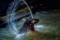 Das heilige Bad - Kumbh Mela in Trimbak 2015