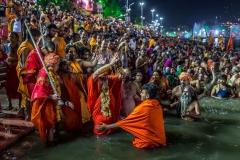 Das heilige Bad - Kumbh Mela in Ujjain 2016