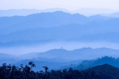 Landschaft mit Layern, Myanmar