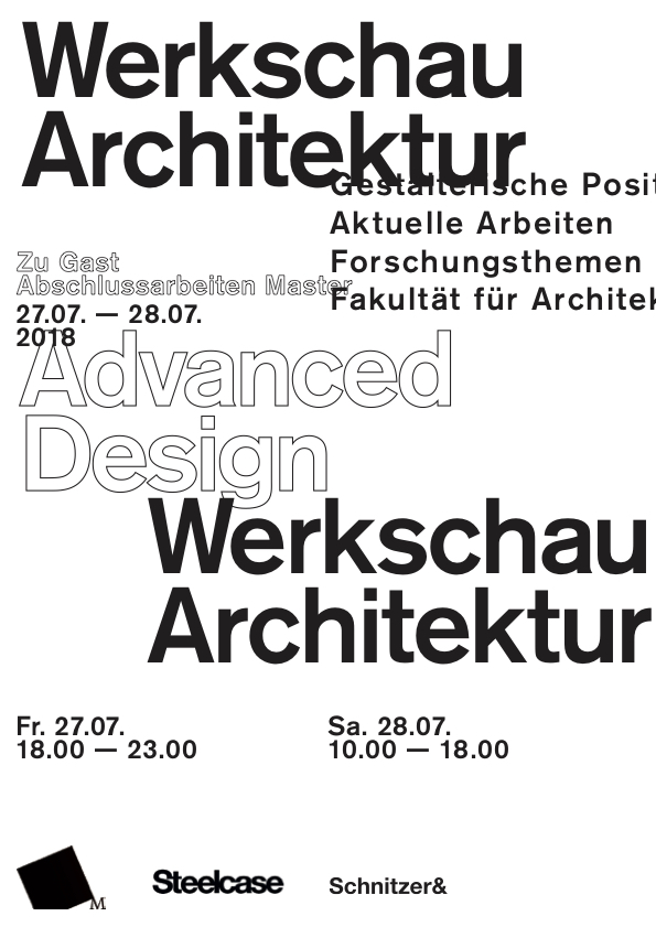 Werkschau Architektur FH München