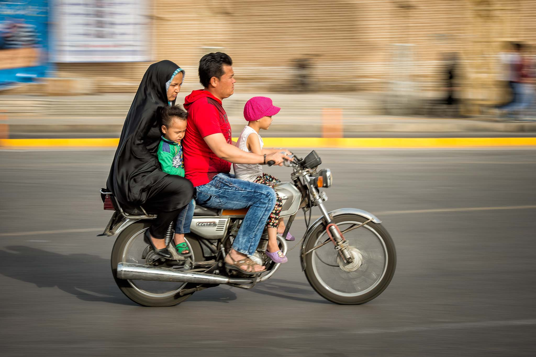 Street Photography in Iran