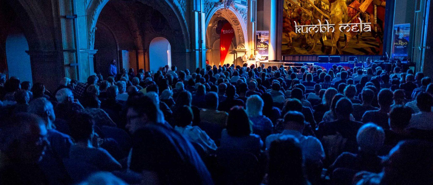"Thorge Berger mit ""Kumbh Mela"" Vortrag beim 19. El Mundo Festival"