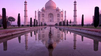 Fotoreise nach Indien - Taj Mahal bei Sonnenaufgang