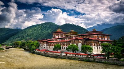 Reisefotografie: Punakha Dzong in Bhutan