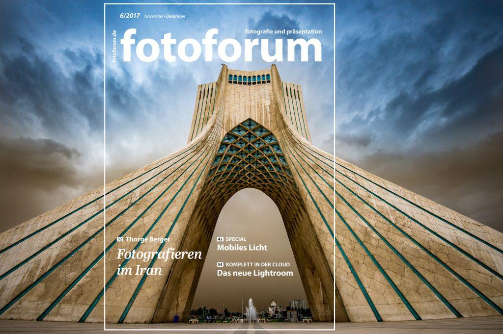 Fotoforum Titelgeschichte IRAN von Thorge Berger