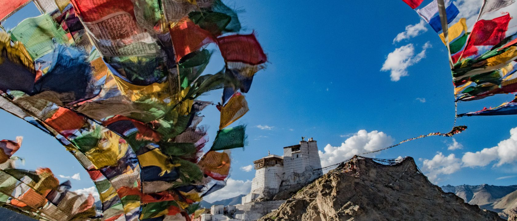 Tsemo Castle in Leh