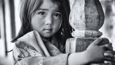Kinder-Portait Bhutan