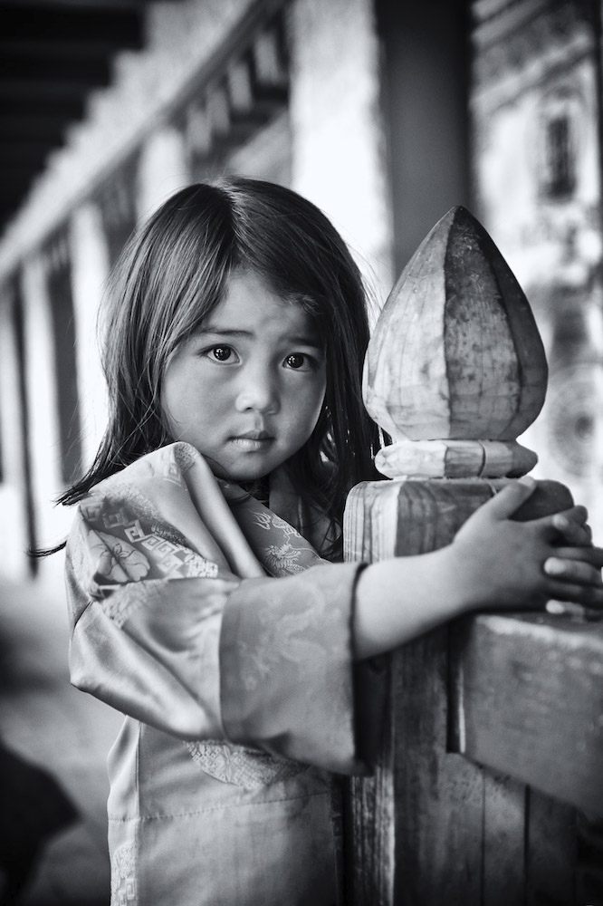Kinder-Portait Bhutan