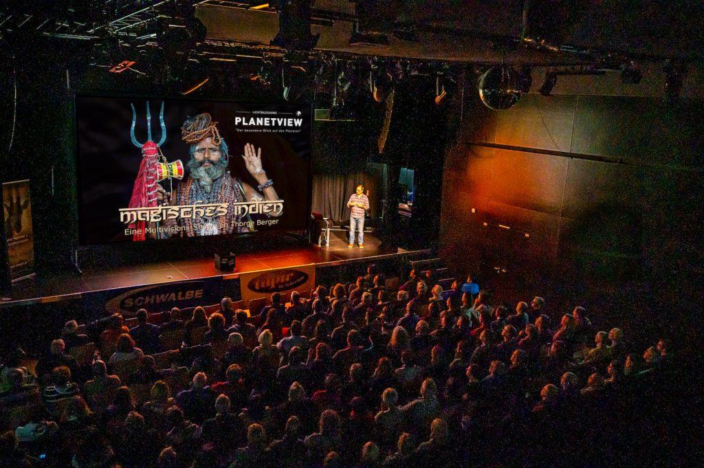"""Vortrag """"Magisches Indien"""" in Marburg"""