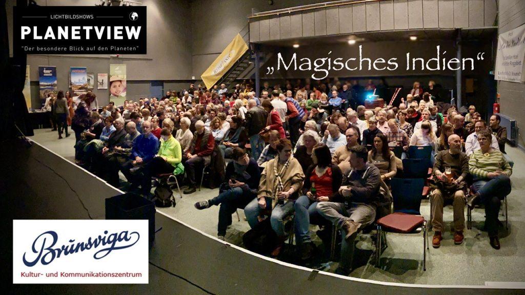 """""""Magisches Indien"""" - Thorge Berger mit seiner Live-Reportage zu Gast im ausverkauften Kulturzentrum Brunsviga, Braunschweig"""