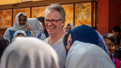 Bernd Krischer bei der Fotoreise in Kerala