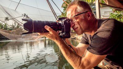 Werner Hoetzel auf Fotoreise in Indien