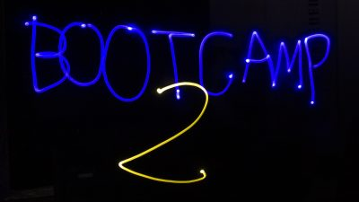 Bootcamp 2 - Light Painting