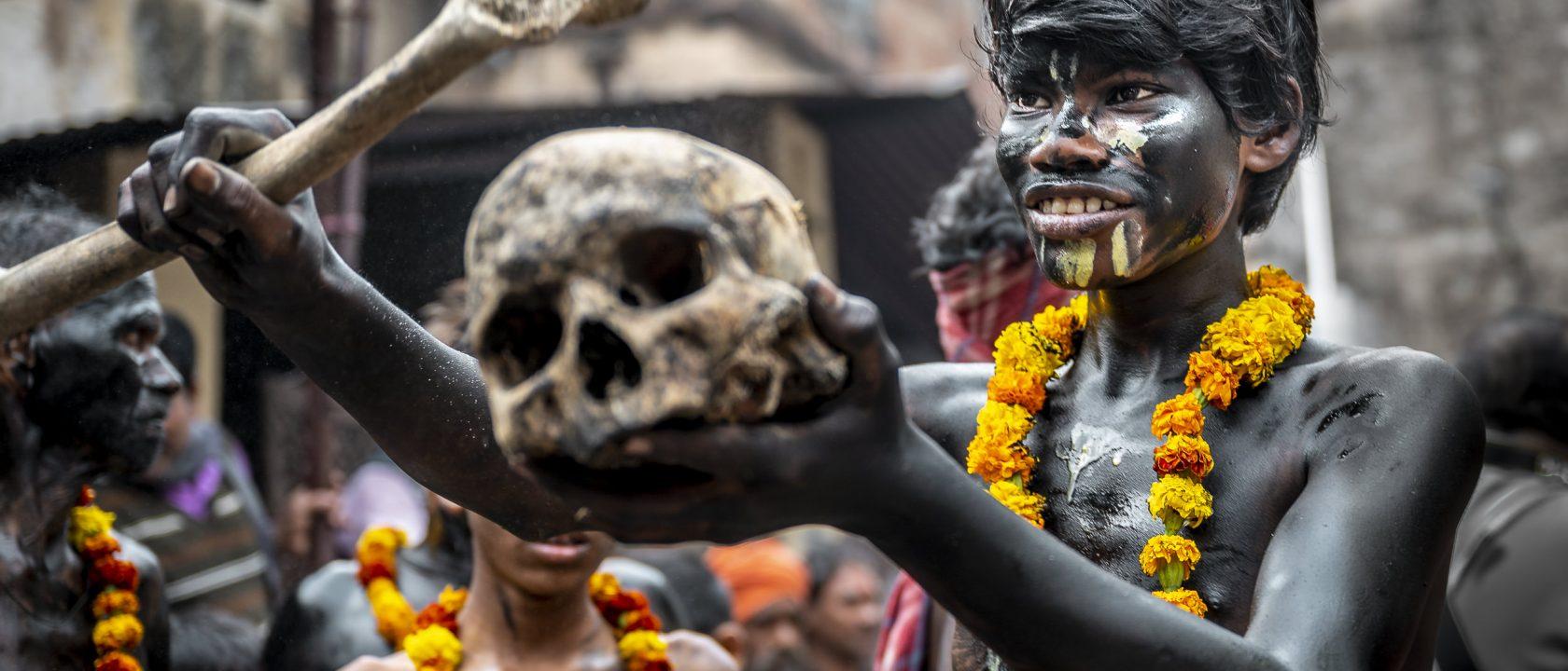 Reisefoto des Monats: Dämonen in Allahabad