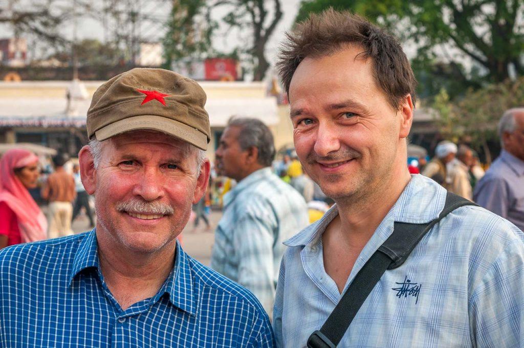 Mit Steve McCurry in Indien