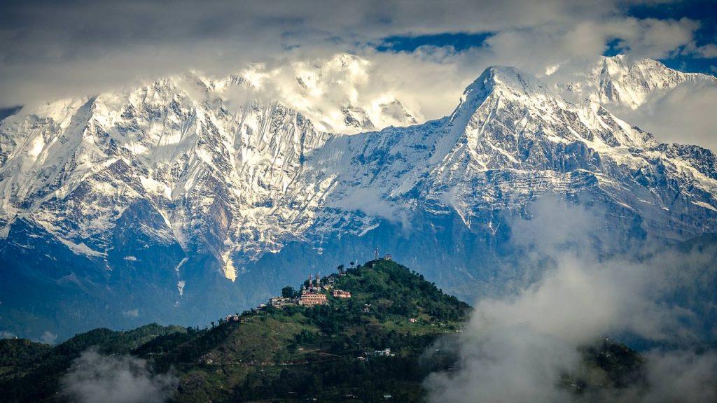 Reisefotografie: Die Annapurna Range im Himalaya in Nepal
