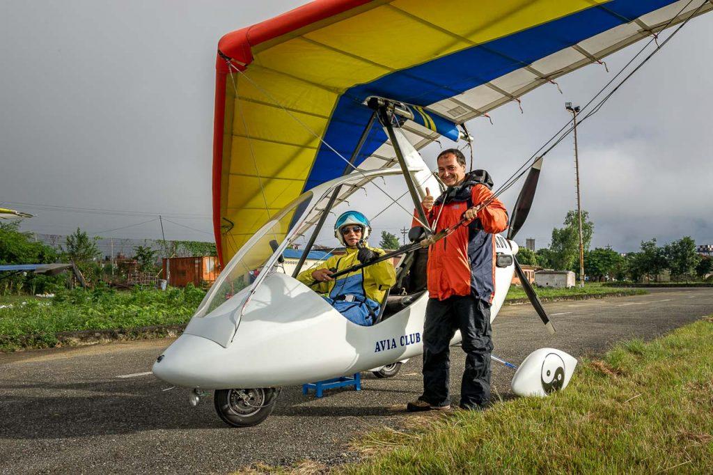 Reisefotografie-Abenteuer im Ultraleichtflugzeug