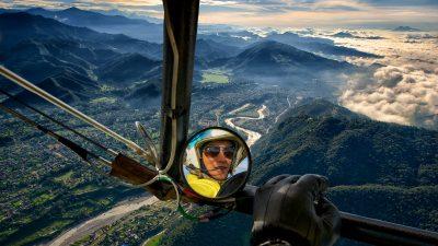 Reisefotografie - Luftaufnahme Nepal