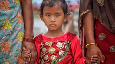 Reisefotografie - Mädchen in Nepal