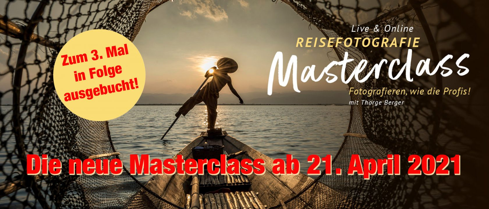 Masterclass Reisefotografie - April 2021 - Ausgebucht!