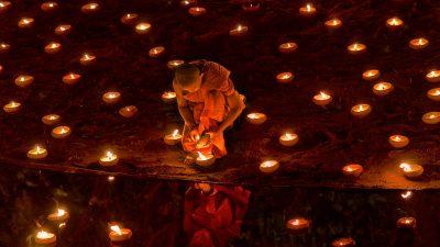 Reisefotografie - Magha Puja Day