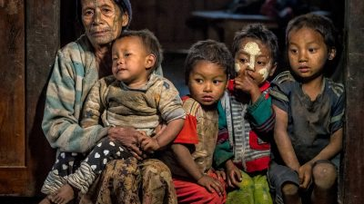 Reisefotografie - Myanmar - Tag der Familie